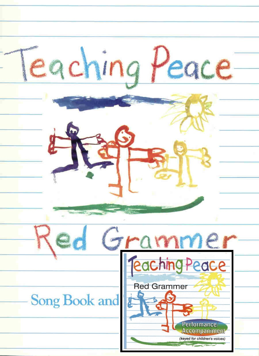 Combo Teaching Peace Songbook with accompaniment CD